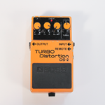 Turbo Distortion Pedal with Remote Jack
