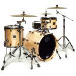 Platinum Level Mapex Saturn Maple OR Walnut 4 Piece Pro Kit (SNMB2418)