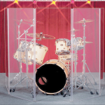 Gibralter DRUMSHIELD 5.5'x10' - 5 Panel Drum Sound Shield