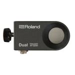 Roland RT-30HR Dual Zone Drum Trigger for Acoustic Drum Rims (RT-30HR)