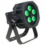 American DJ Battery Powered LED Parcan Uplight with RGBAW and UV with Wireless DMX (WIFLYEXRHEX5IP)