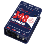 Radial J48STEREO Stereo Active DI