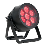American DJ IP65 Outdoor Rated LED Par with Zoom and Wireless DMX (7PZIP)