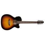 Seagull Coastline Series S12 12-String Concet Hall Sized Acoustic Guitar with Electronics (042296)