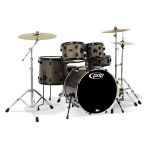 Silver Level PDP Mainstage Hardwood 5 Piece Drum Kit (PDMA2215P8)