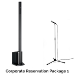 Rock n Roll Rentals CORPRESPKG1 Corporate Reservation Package 1  Portable PA