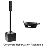 Rock n Roll Rentals CORPRESPKG2 Corporate Reservation Package 2 Portable PA