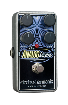 Electroharmonix ANALOGIZER Analog Saturation/Boost Pedal