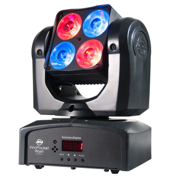 American DJ Mini Moving-Head RGBW Wash Light (INNOPOCKETWASH)