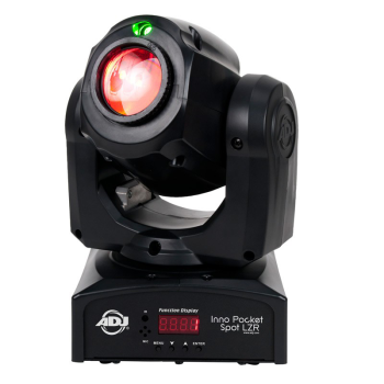 American DJ Innopocket Spot with Green Laser Effect Light (IPSPOTLZR)