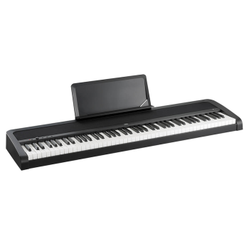 Korg B1-BK 88 Weighted Key Digital Piano with Onboard Speaker and 8 Sound Presets (B1-BK)