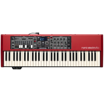 Nord NE5D61 Electro5 Piano/Organ/Synth Hybrid with Drawbars and Semi-weighted Keys (NE5D61)