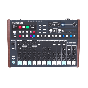 Arturia DrumBrute Analog Drum Machine with Sequencer (DRUMBRUTE)