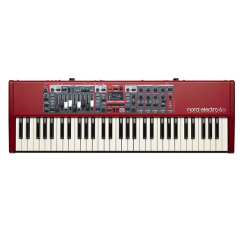 Nord NE6D61 Electro6 Piano/Organ/Synth with Drawbars and 61 Semi-weighted Keys (NE6D61)
